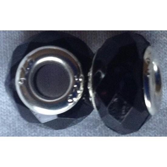 Perles de couleur Noire (lot de 2)