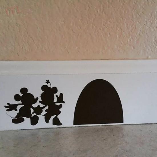 Décoration murale Mickey et Minnie