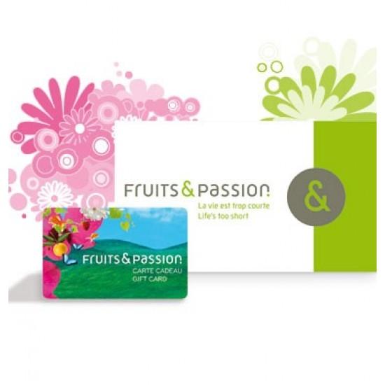 Carte cadeau Fruits et Passion