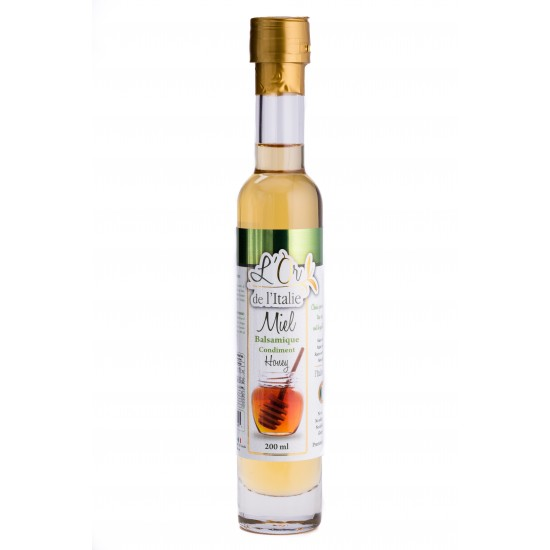 Vinaigre balsamique au miel