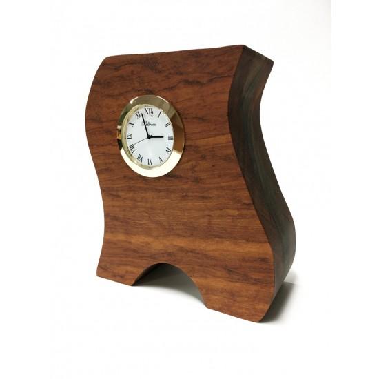 Horloge en bois Tigerwood