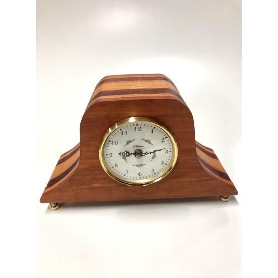 Horloge classique #CP021-001 cerisier, acajou et...