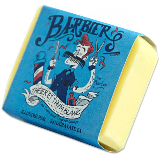 Le Barbier - Savon théier et thym blanc