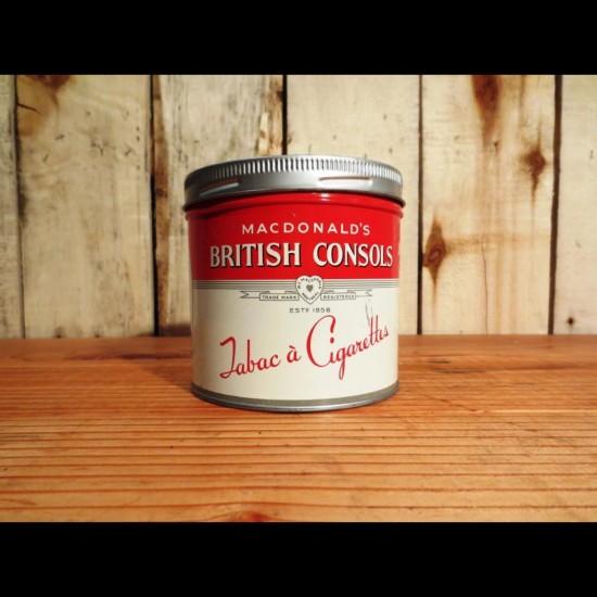 Canne de tabac Mcdonald's British consols