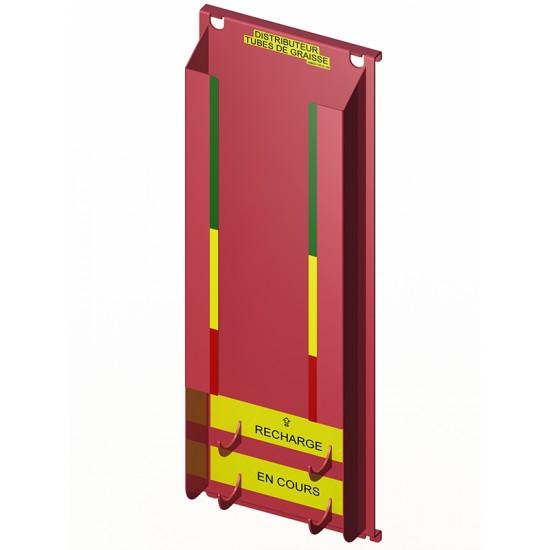 Distributeur de tubes de graisse (11+1) Ø2 1/8