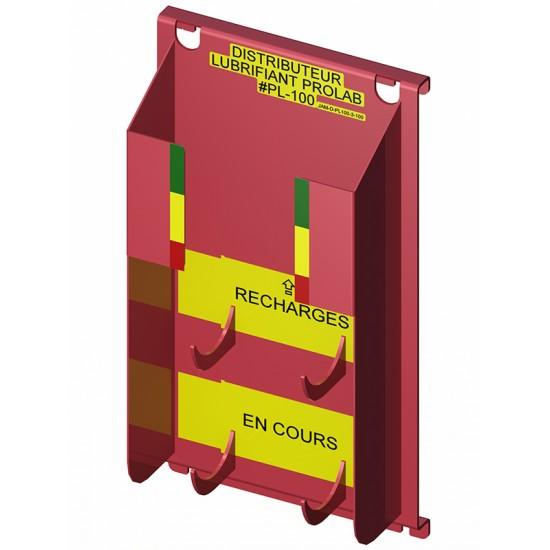 Distributeur de lubrifiant en aérosol (3+1)...