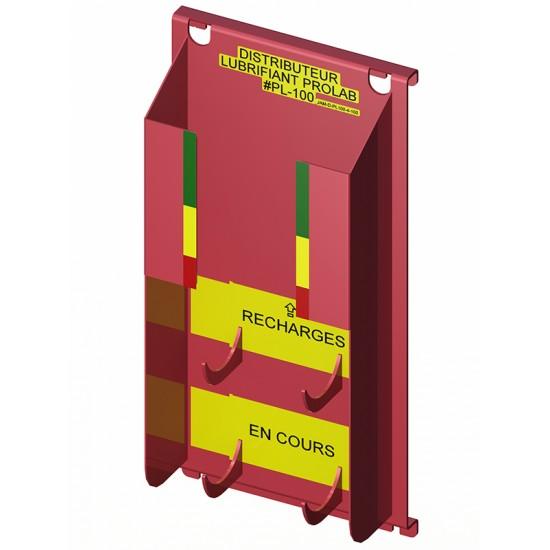 Distributeur de lubrifiant en aérosol (4+1)...