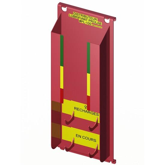 Distributeur de lubrifiant en aérosol (6+1) PROLAB PL-100