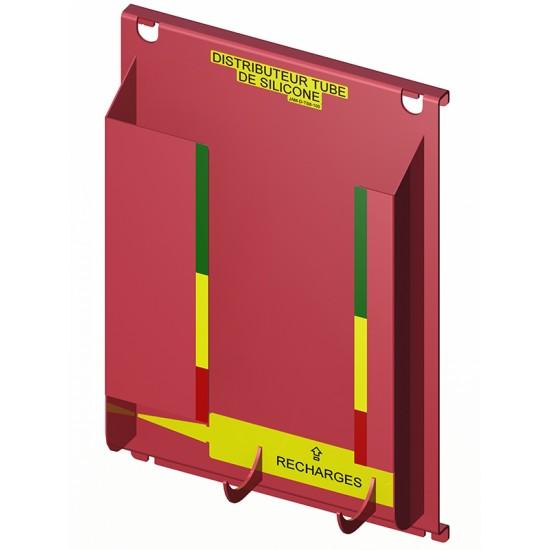 Distributeur pour tubes de silicone (8)