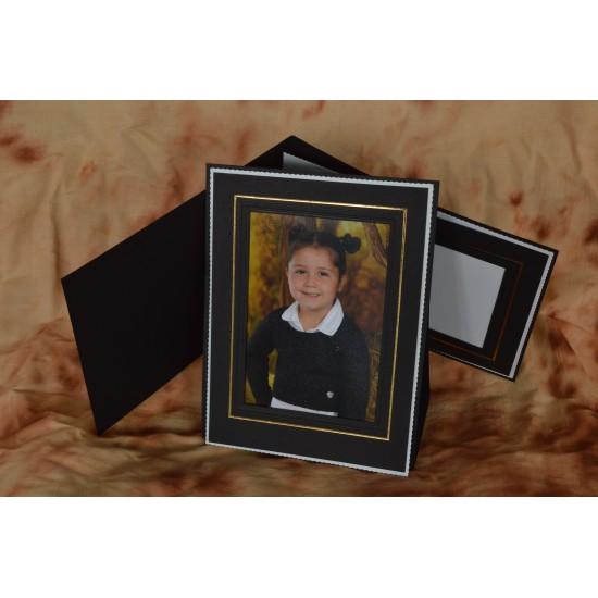 Cadre Photo 5x7  Noir