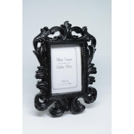 Cadre Photo Mini Carré Noir 1¾ x 2 ½