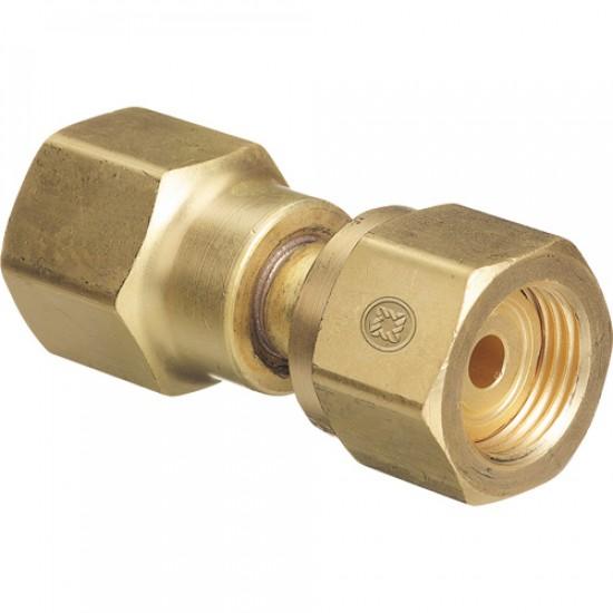 Adapteur acétylène CGA410/CGA510
