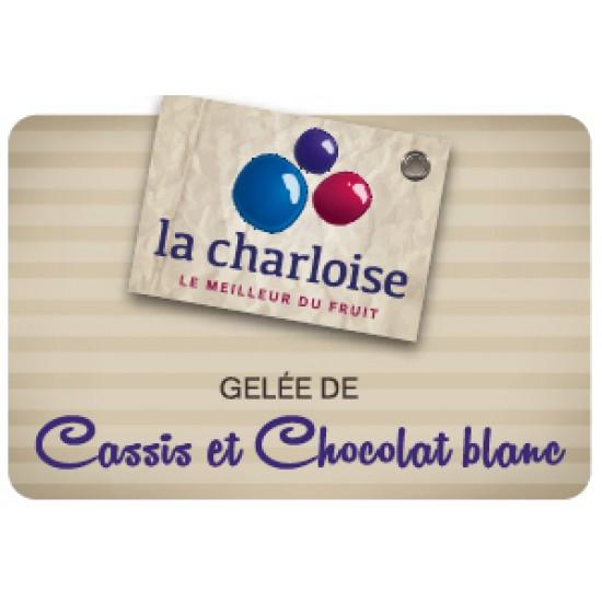 GELÉE DE CASSIS ET CHOCOLAT BLANC