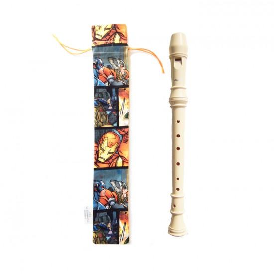 pochette pour flûte à bec