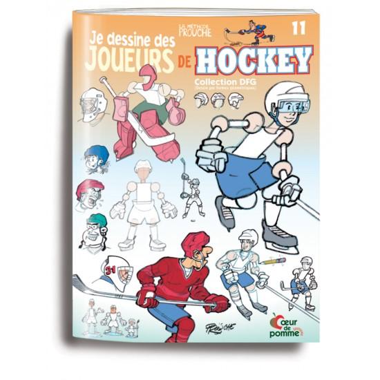 Livre 11 (Je dessine des joueurs de hockey)