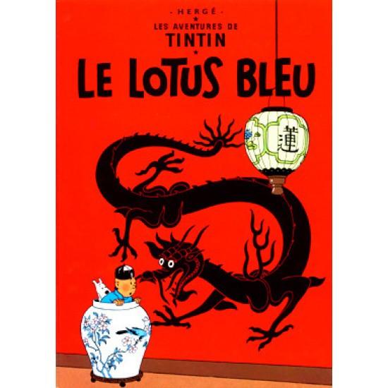 Affiche Lotus Bleu