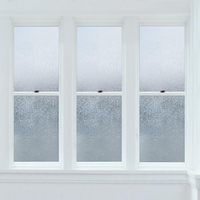glacier fen tre pellicule lectrostatique. Black Bedroom Furniture Sets. Home Design Ideas
