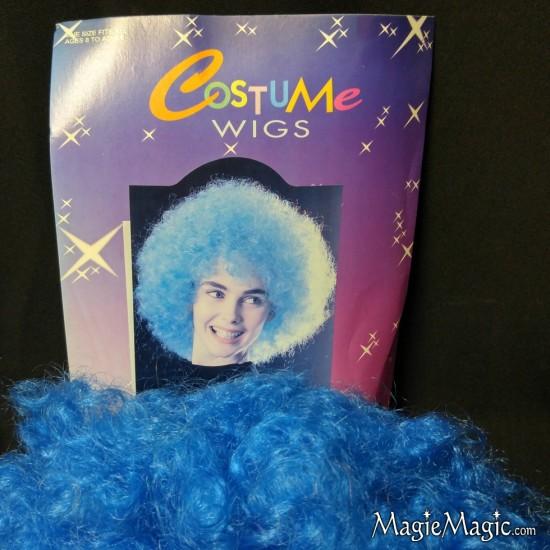 Clown Wig - Bleu