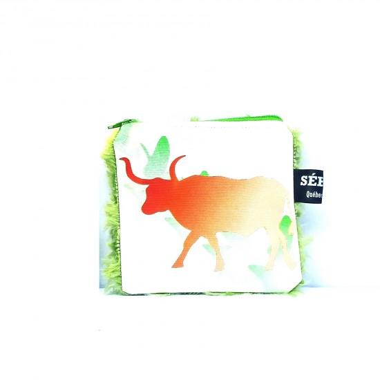Braderie #18-090 Pochette Animaux Taureau