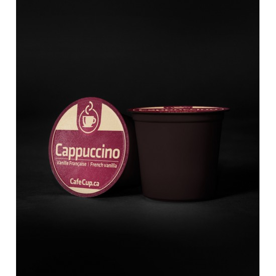 K-Cups Cappuccino vanille française | 24 dosettes