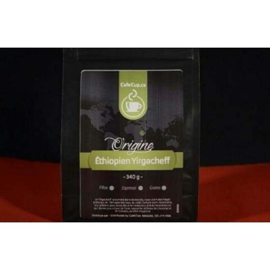 Café Éthiopien Yirgacheffe Origine   Café en...
