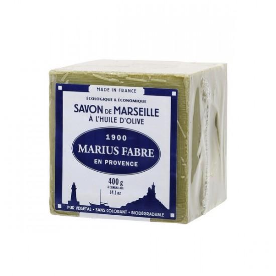 Cube de savon de Marseille à l'huile d'olive 400g...