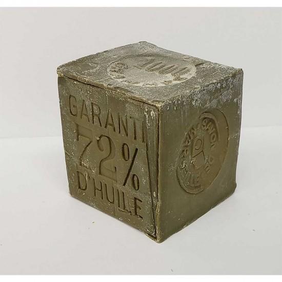 Cube de savon de Marseille de ménage 1kg - Huile...