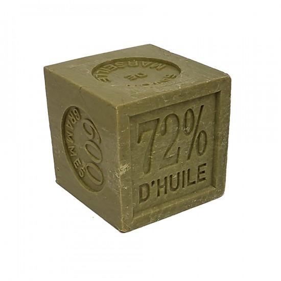 Cube de savon de Marseille 600 g - Huile d'olive