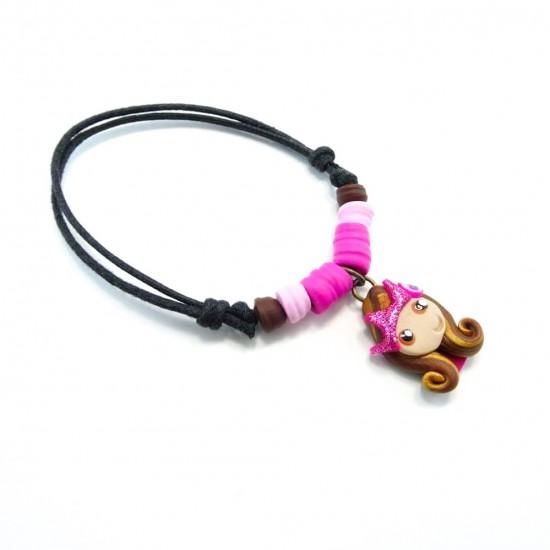 Bracelet princesse brune