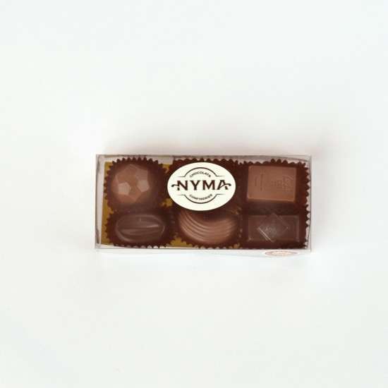 Emballage chocolats assortis