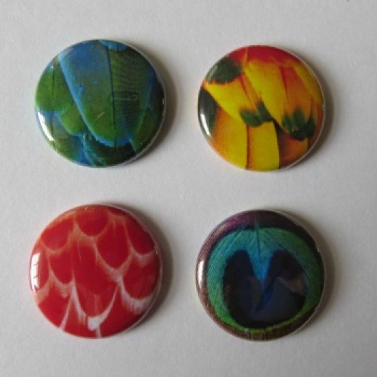 Badge texture- plume-1