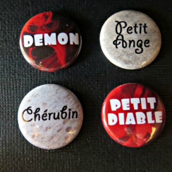 Badge mots-demon