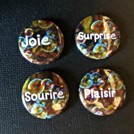 Badge mots-joie