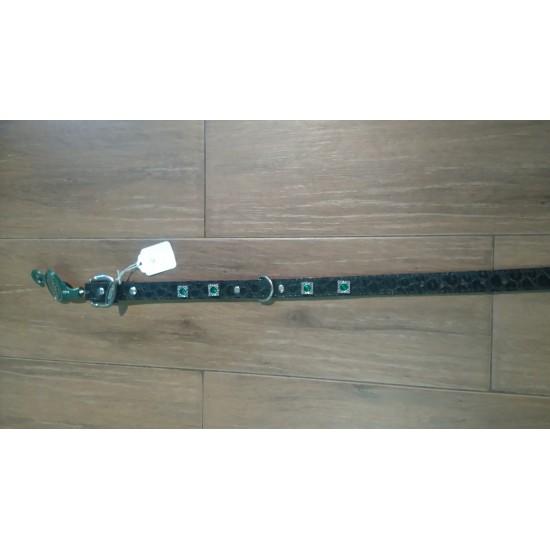 Collier pour chiens Motif Rubis Vert - 18'' *...