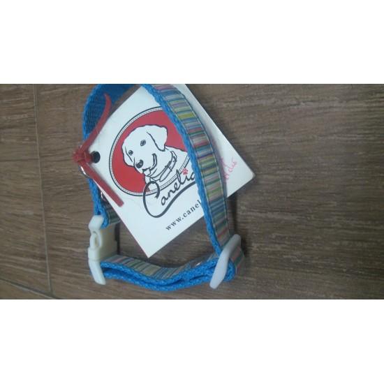 Collier pour chiens Nylon Bleu  - XS *