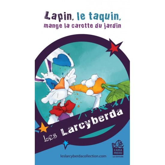 Aimant Lapin, le taquin, mange la carotte du...