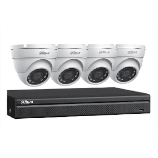 Ensemble Dahua DVR 2 MP à 4 canaux et 4 caméras...