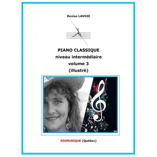Piano classique intermédiaire vol.3 (en...