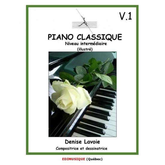 Piano classique intermédiaire vol.1 (en...