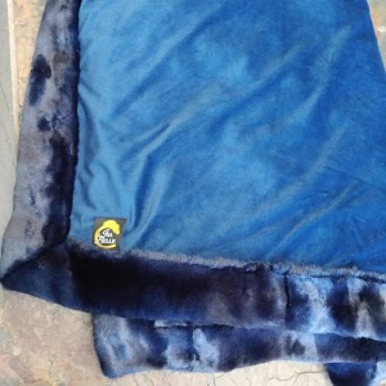 Couverture de carriole bleue  52x62 po