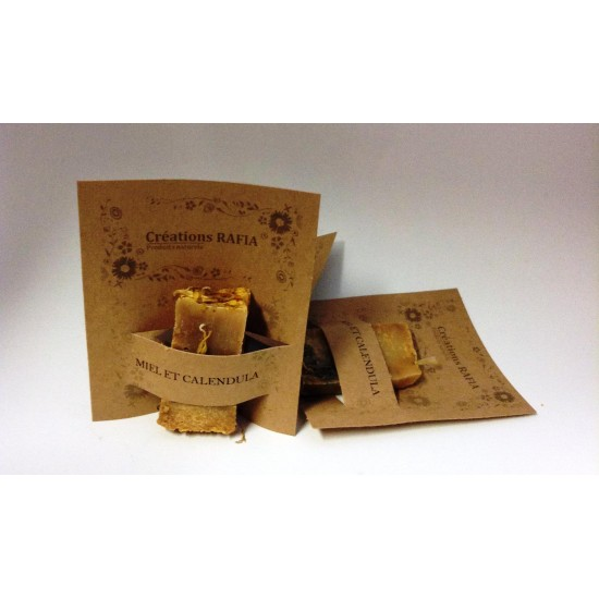 Échantillons de savon artisanal