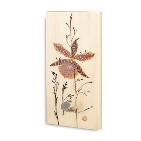 Plaque à crochet verticale - Orchidaceae