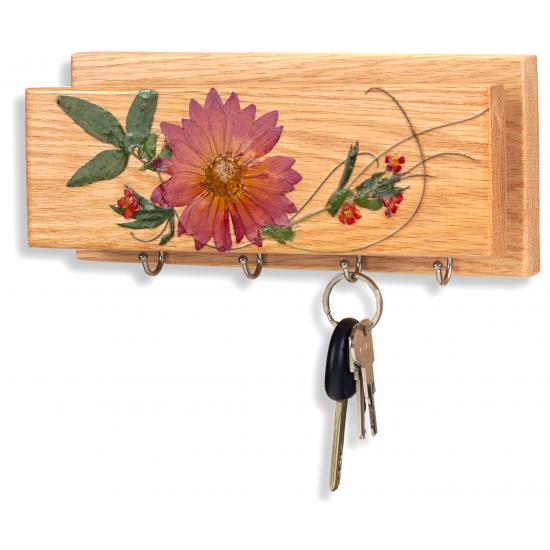 Porte-clés et lettres - Dahlia