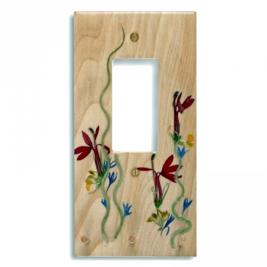 Plaque d'interrupteur Decora - Lobelia