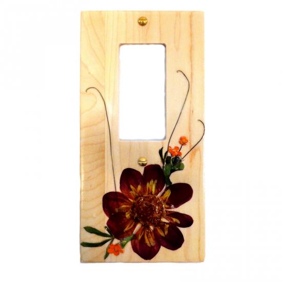 Plaque d'interrupteur Decora - Euphorbia