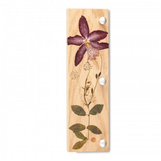 Porte-clés vertical - Orchidaceae