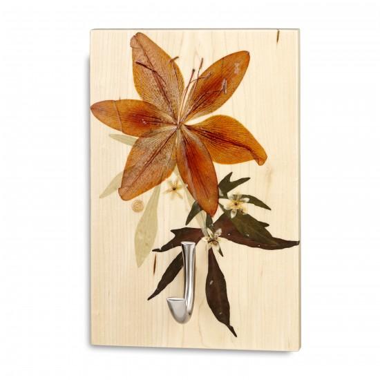 Plaque murale portemanteaux avec crochet - Lillium
