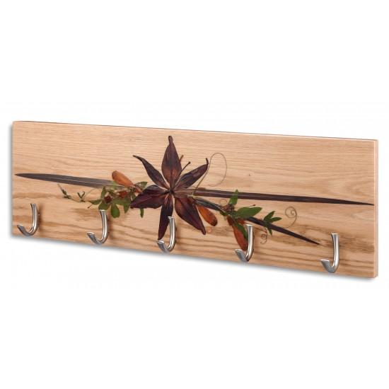 Portemanteaux avec cinq crochets - Lilium