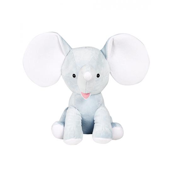 Éléphant grande oreille bleu pale