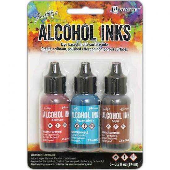 Tim Holtz - Ensemble «Alcohol Inks»  couleur...